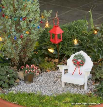 45 beautiful christmas fairy garden ideas decorations (4)