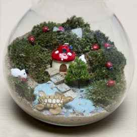 45 beautiful christmas fairy garden ideas decorations (9)