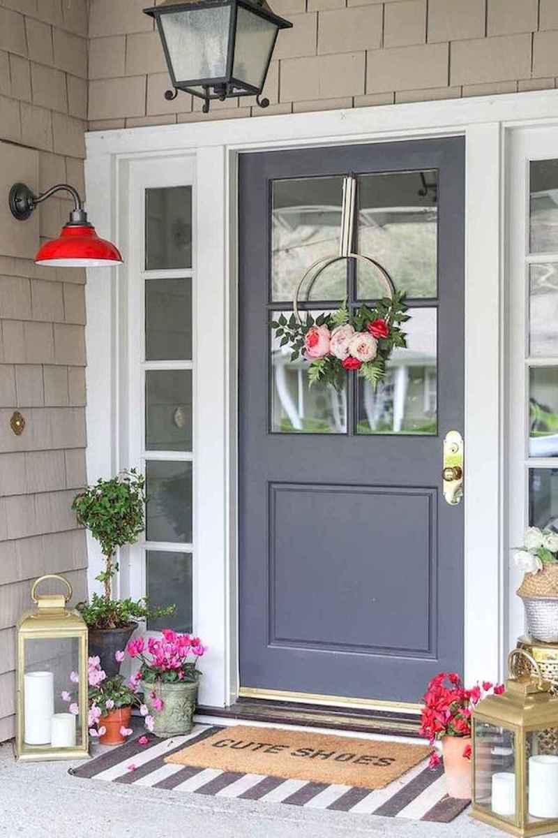 50 front porches farmhouse christmas decorations ideas (12)