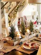 50 stunning christmas table dining rooms ideas decorations (39)