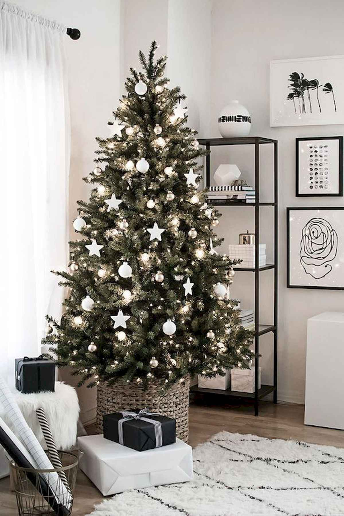 60 awesome christmas tree decorations ideas (1)