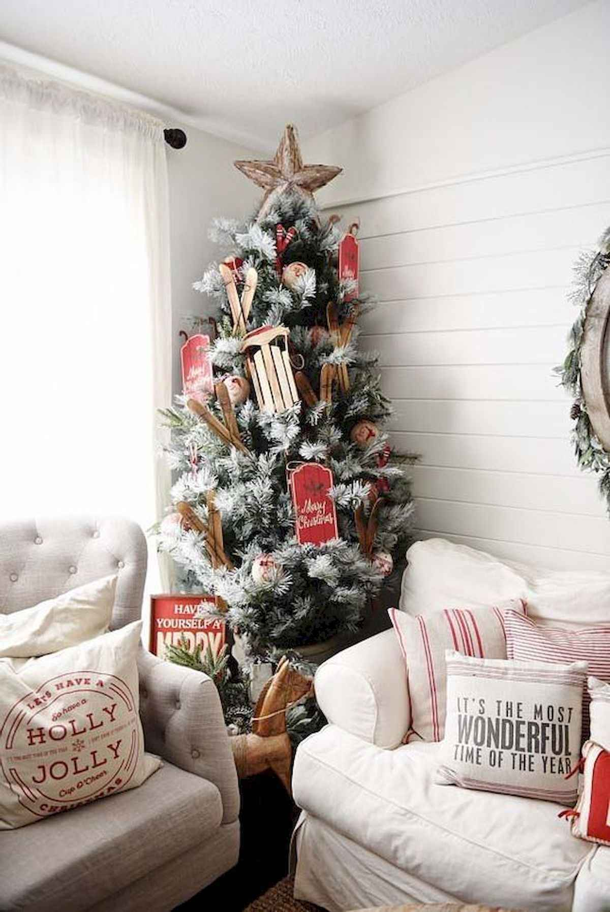60 awesome christmas tree decorations ideas (11)