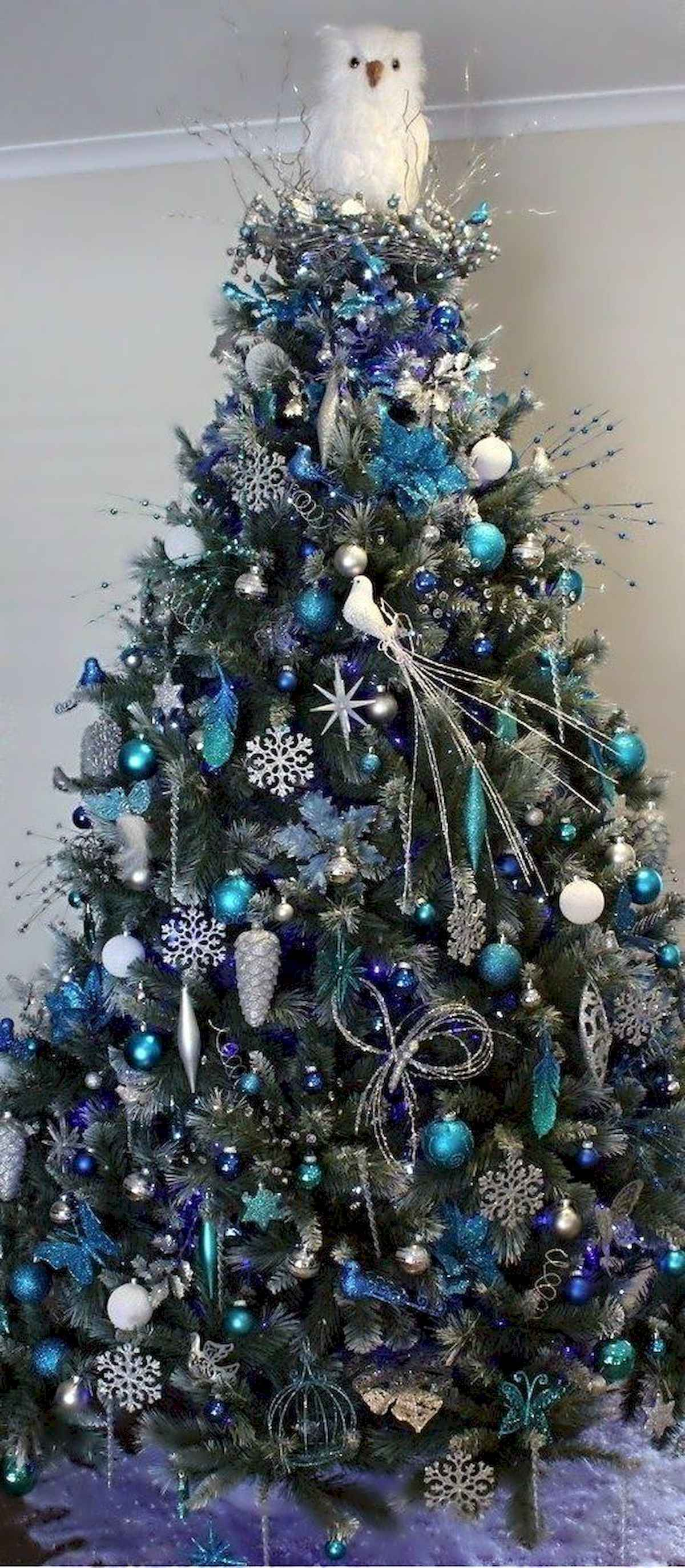 60 awesome christmas tree decorations ideas (26)