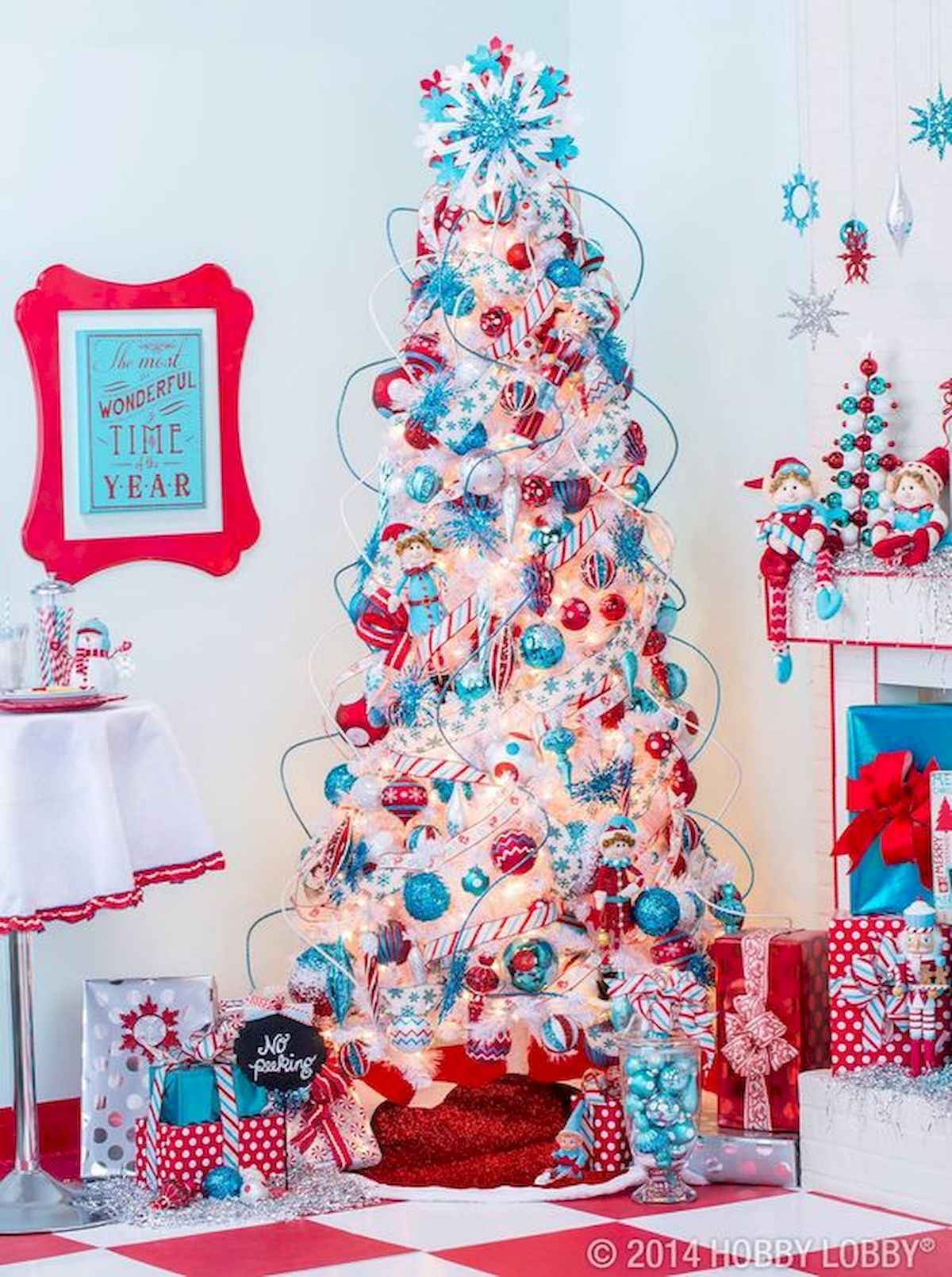 60 awesome christmas tree decorations ideas (3)