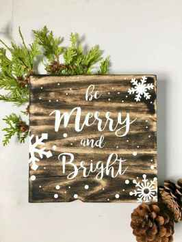 60 awesome wall art christmas ideas decorations (18)