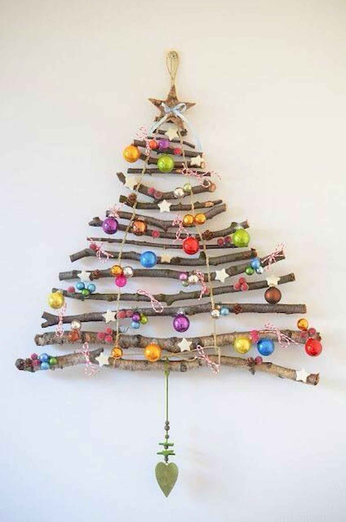 60 awesome wall art christmas ideas decorations (22)