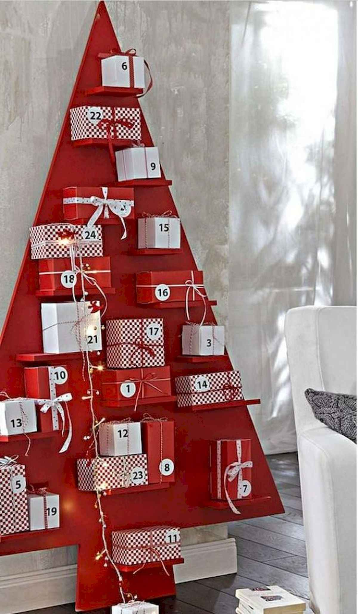 60 awesome wall art christmas ideas decorations (42)