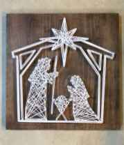 60 awesome wall art christmas ideas decorations (53)