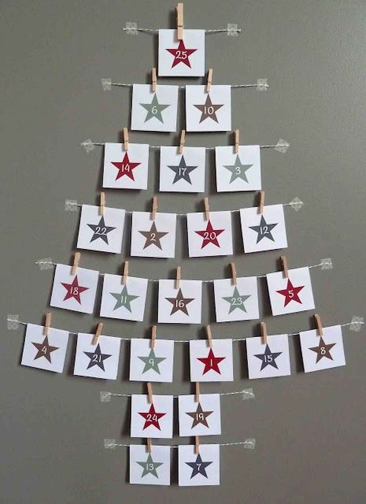60 awesome wall art christmas ideas decorations (55)