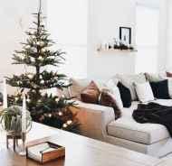60 simple living room christmas decorations ideas (39)