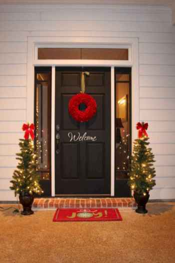40 cheap and easy christmas decorations for your apartment ideas (53)