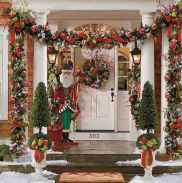 50 christmas front porch decor ideas and remodel (26)