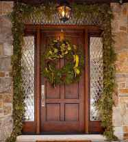 50 stunning christmas front porch decor ideas and design (18)