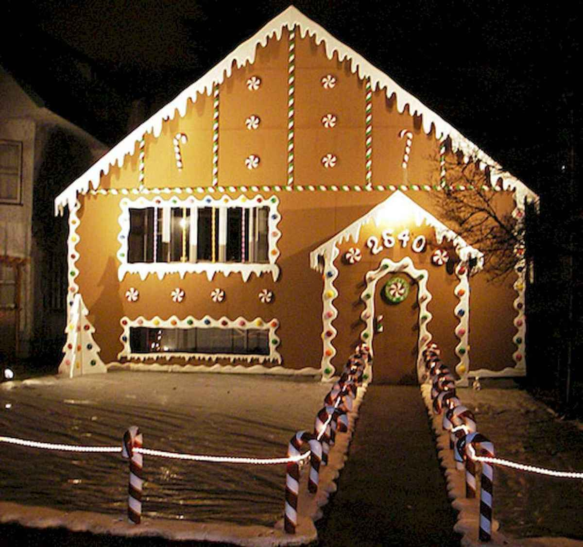50 stunning outdoor christmas decor ideas and makeover (15)