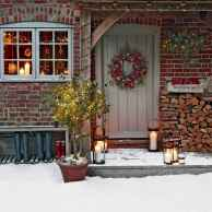 50 stunning outdoor christmas decor ideas and makeover (19)