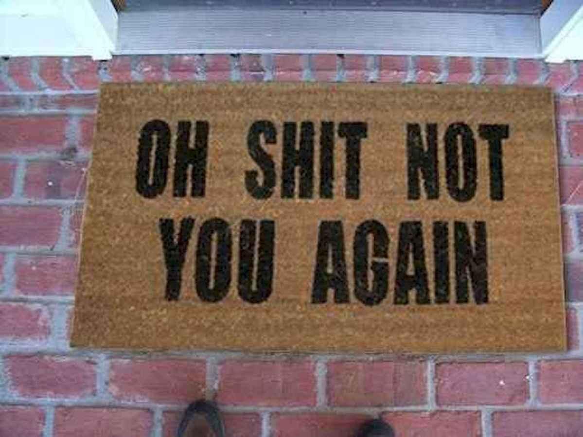 20 funny rug door mats design ideas (10)