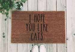20 funny rug door mats design ideas (16)