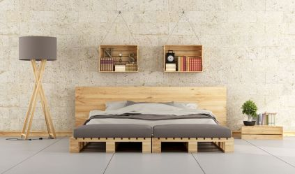 30 creative wooden pallets bed projects ideas (1)