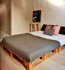 30 creative wooden pallets bed projects ideas (12)