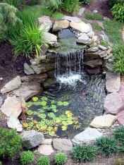 30 fantastic garden waterfall for small garden ideas (19)
