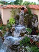 30 fantastic garden waterfall for small garden ideas (3)