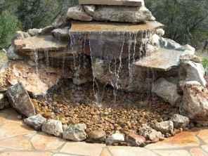 30 fantastic garden waterfall for small garden ideas (4)