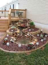 30 fantastic garden waterfall for small garden ideas (9)
