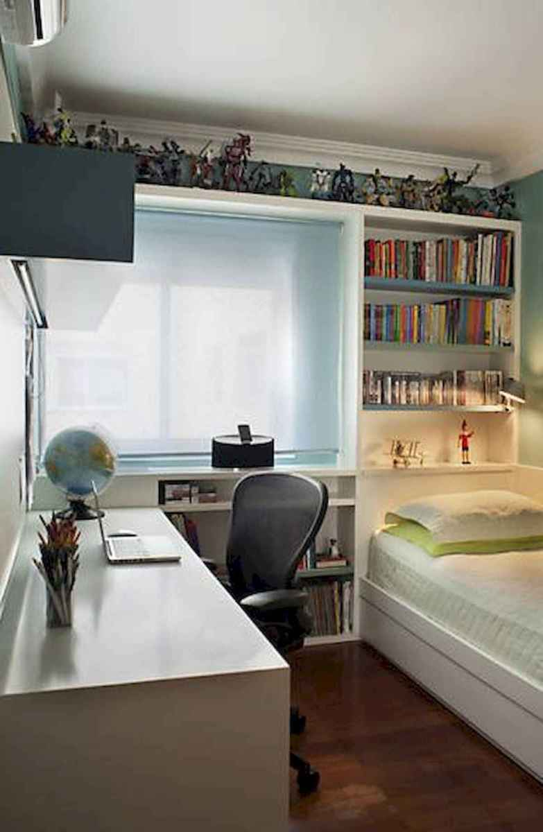 40 creative small apartment bedroom decor ideas (36)