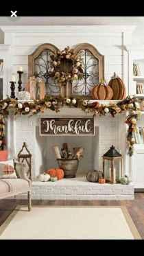 40 elegant fall mantle decor ideas (12)