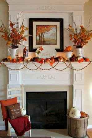 40 elegant fall mantle decor ideas (18)