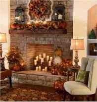 40 elegant fall mantle decor ideas (7)