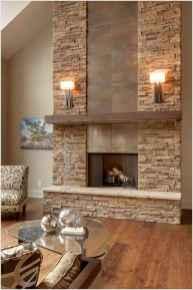 40 elegant fireplace makeover for farmhouse home decor (22)