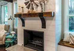 40 elegant fireplace makeover for farmhouse home decor (32)