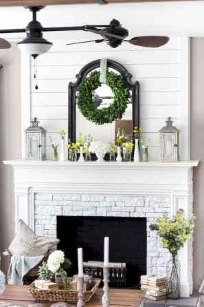 40 elegant fireplace makeover for farmhouse home decor (38)