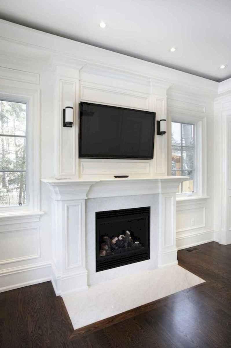 40 elegant fireplace makeover for farmhouse home decor (9)