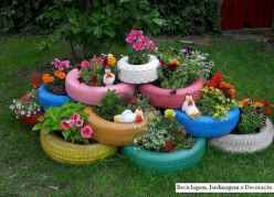 50 creative container gardening flowers ideas decorations (24)