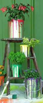50 creative container gardening flowers ideas decorations (28)