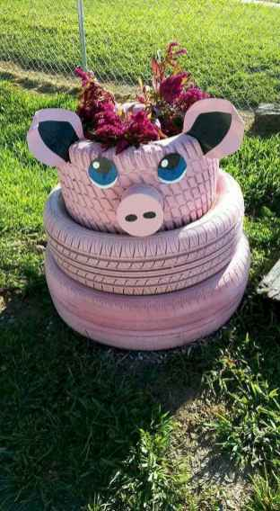 50 creative container gardening flowers ideas decorations (35)