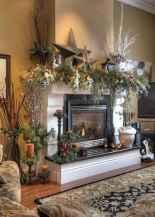 50 elegant christmas mantle decor ideas (26)