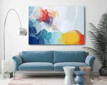 60 most elegant wall art ideas for living room makeover (15)