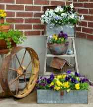 50 unique and creative ladder in the garden design ideas and remodel (10)
