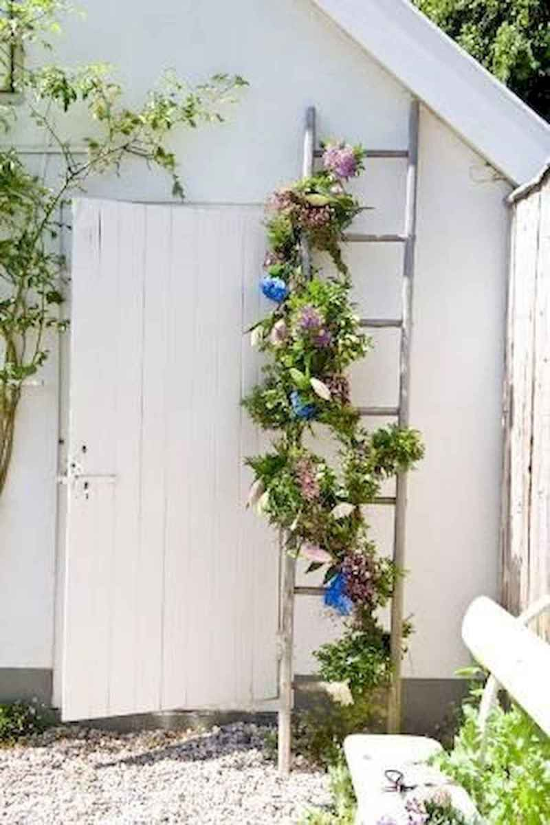 50 unique and creative ladder in the garden design ideas and remodel (15)