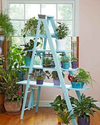 50 unique and creative ladder in the garden design ideas and remodel (38)