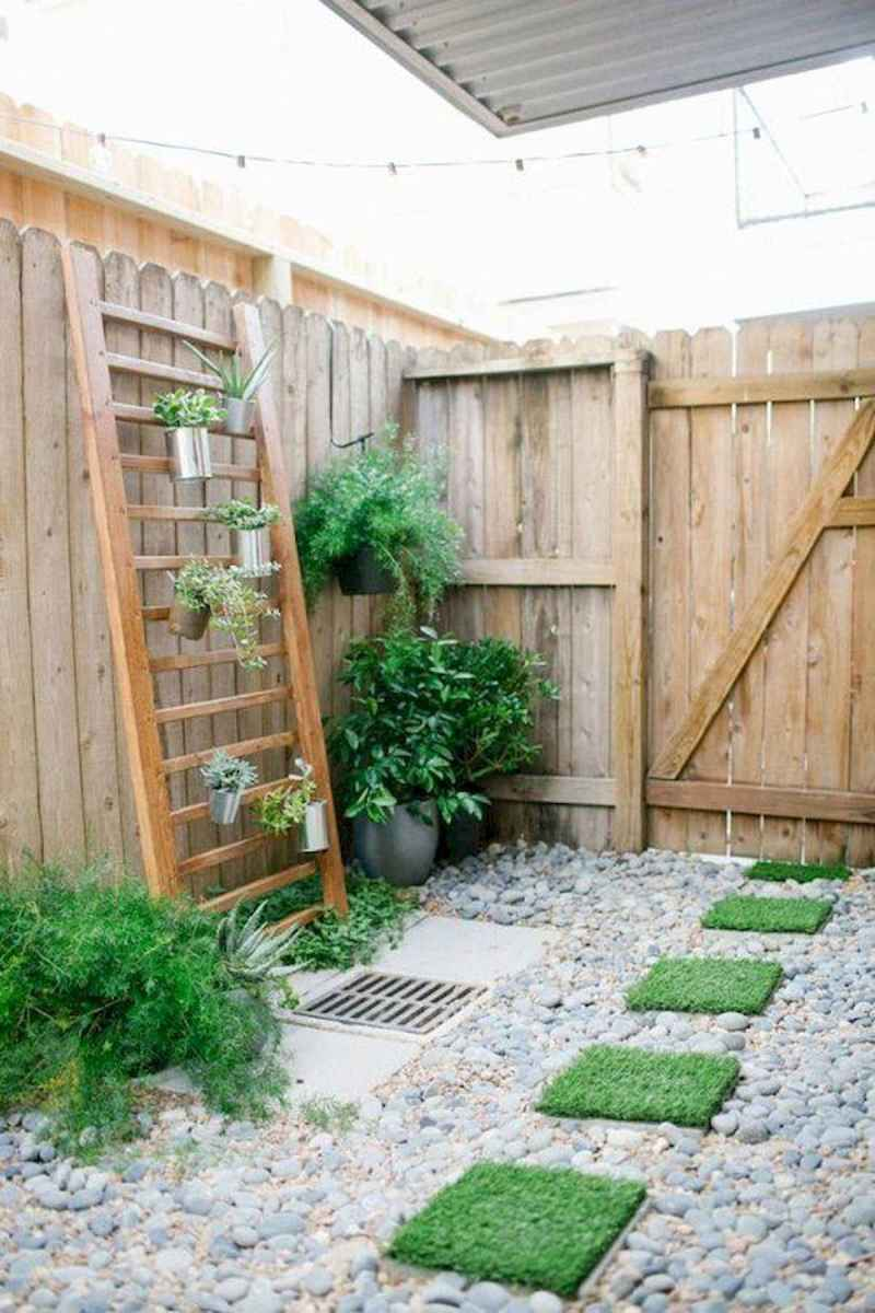 50 unique and creative ladder in the garden design ideas and remodel (41)