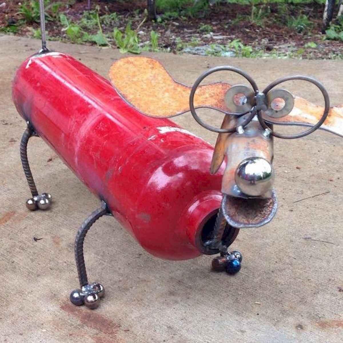 70 creative and genius garden art from junk design ideas for summer (4)