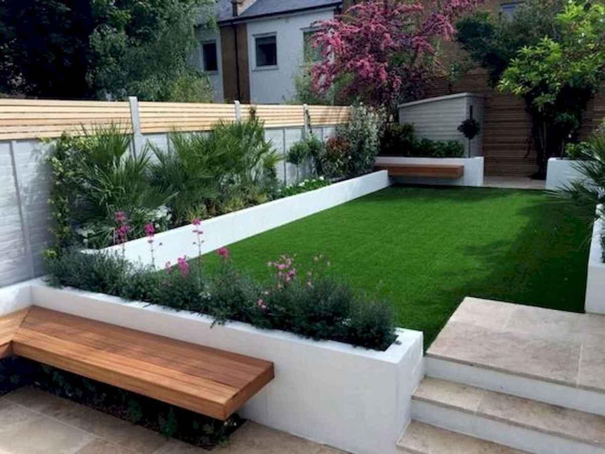 90 lovely backyard garden design ideas for summer (13)