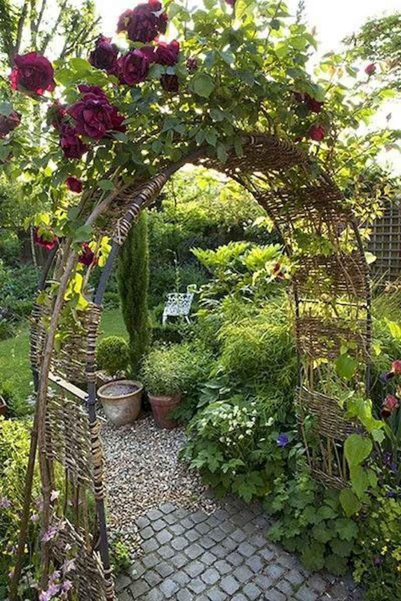 90 lovely backyard garden design ideas for summer (32)