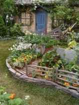 90 lovely backyard garden design ideas for summer (53)