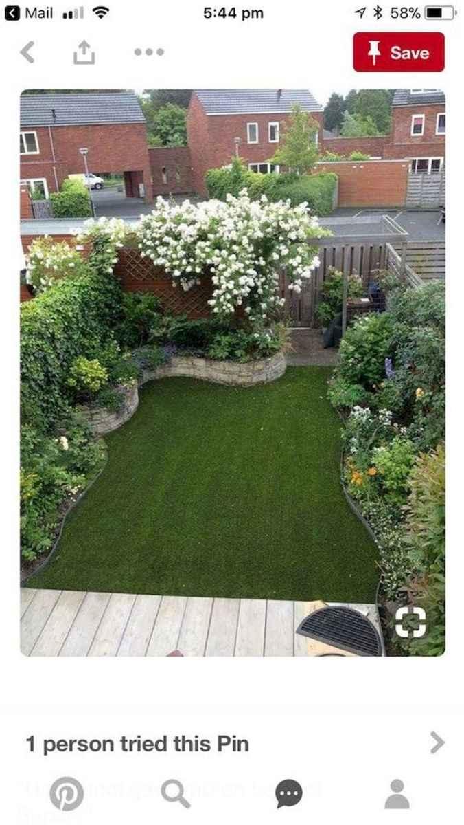 90 lovely backyard garden design ideas for summer (65)