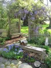 90 lovely backyard garden design ideas for summer (66)